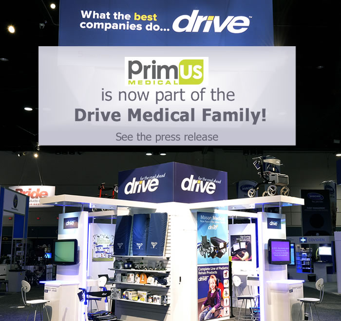 Drive Medical Acquires Business of Primus Medical